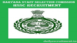 HSSC PGT Recruitment 2020 Vacancy
