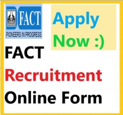 FACT Kochi Technician Recruitment 2019