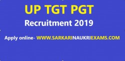 UP TGT, PGT Recruitment 2019