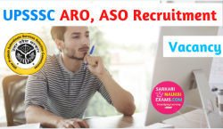 UPSSSC ASO, ARO Recruitment 2019 Vacancy, Last Date