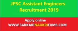 Jharkhand JPSC Assistant Engineers Recruitment 2019