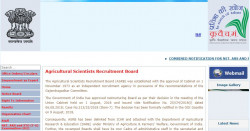 Agricultural Scientists Recruitment Board (ASRB) Officer (अफ़सर) Form 2021