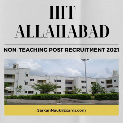 IIIT Allahabad Recruitment 2021: Apply Online Form for Non-Teaching Posts