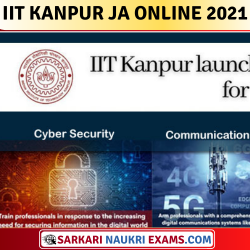 IIT Kanpur Junior Assistant / Technician / Technical & Other Post Online Form 2021
