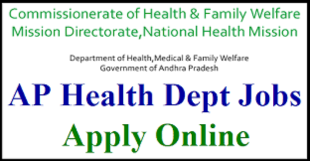 CFW (Commissionerate Health & Family Welfare) AP Notification for State & District Consultants: