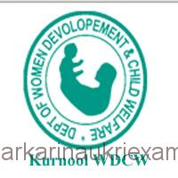 DWCD Kurnool Anganwadi Helper and Worker Recruitment 2018