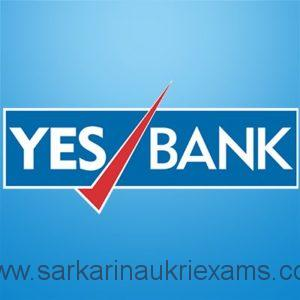 YES Bank Recruitment 2020 Apply Online 3700+ Vacancy