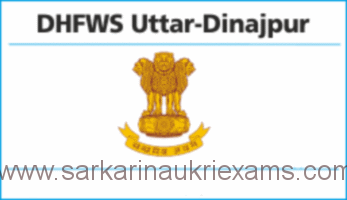 DHFWS Uttar Dinajpur MO, Lab Technician, Staff Nurse and GDMO Recruitment 2018