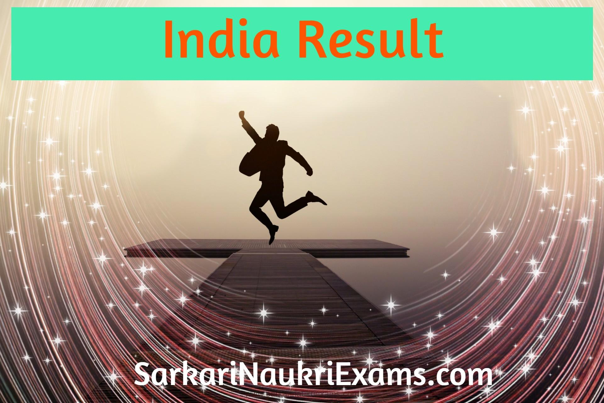 India Result, India Results